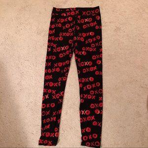 Valentine's Day soft leggings